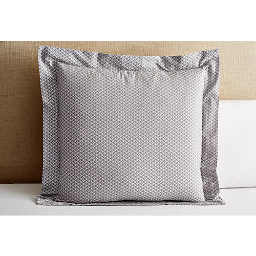 Chrysler Euro Sham, Gray