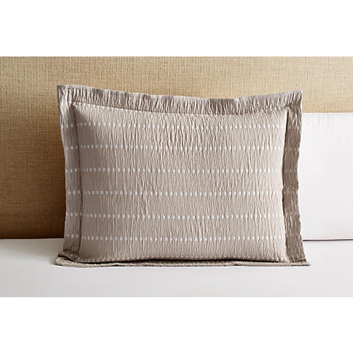 Relaxed Squares Sham, Gray