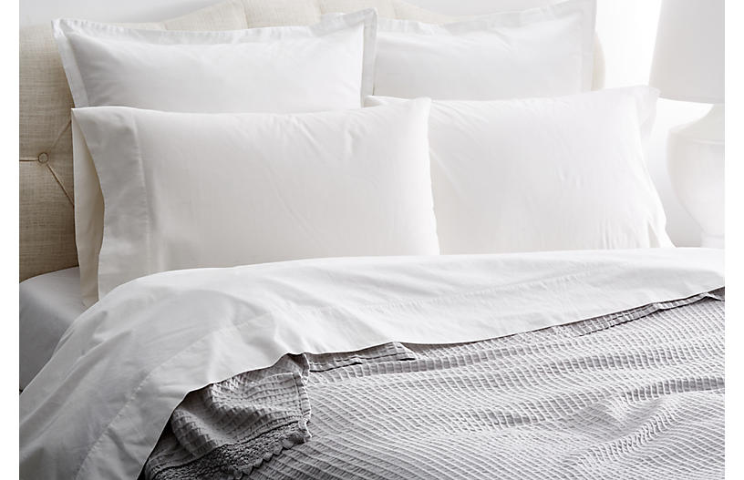 Shelly Romance Coverlet, Gray
