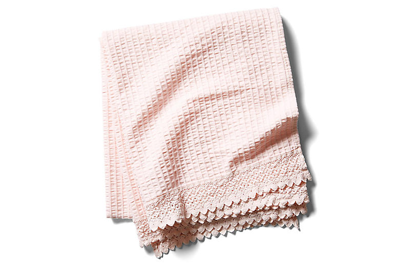 Shelly Romance Throw, Pink