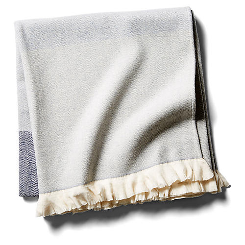 Oliver Throw, Blue