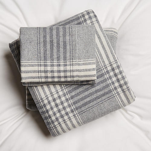 Edward Sheet Set, Gray