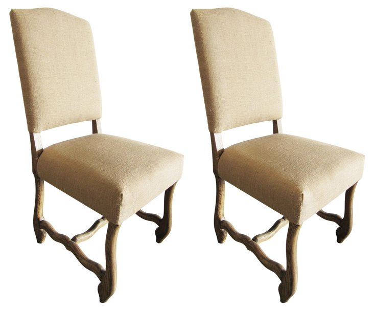 Hadley Dining Chair, Pair