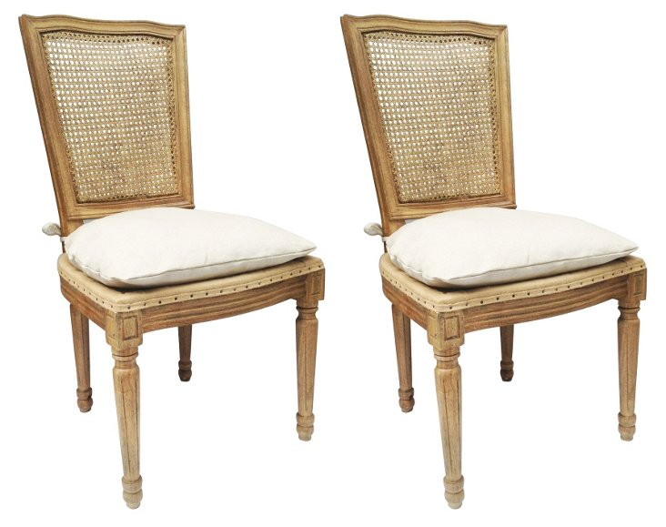 Cecile Dining Chairs, Pair