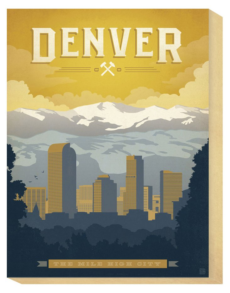 Denver, The Mile High City
