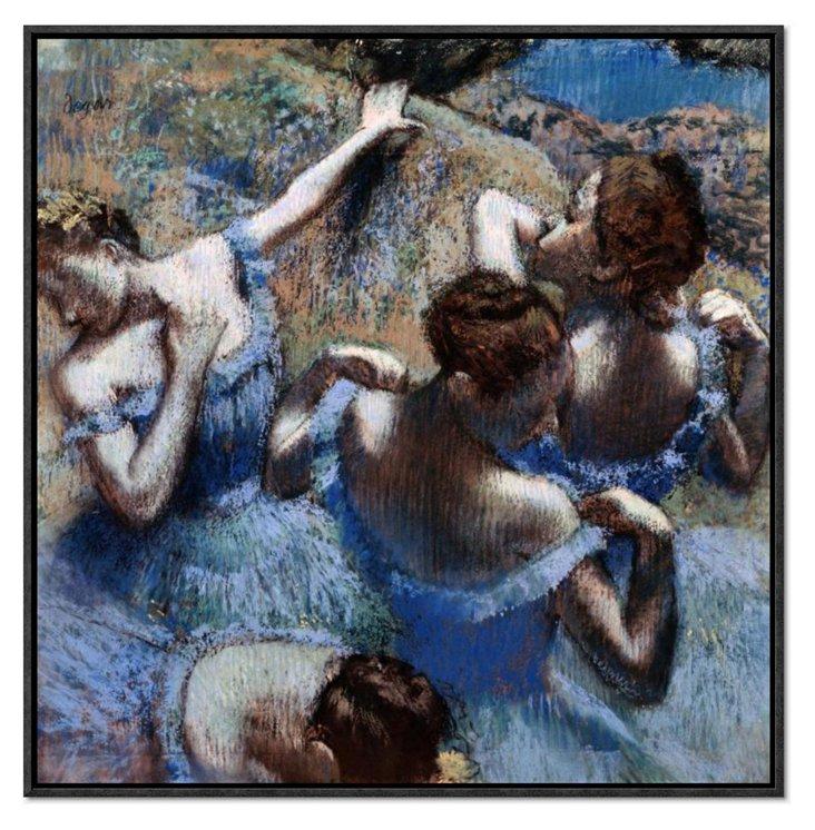 Edgar Degas, Les Danseuses Bleues