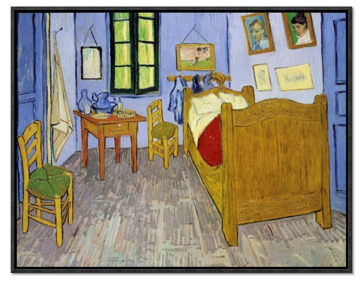 Van Gogh, Van Gogh's Bedroom Arles 1889