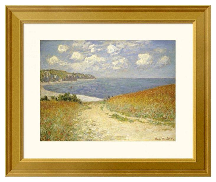 Monet, Wheat Fields at Pourville