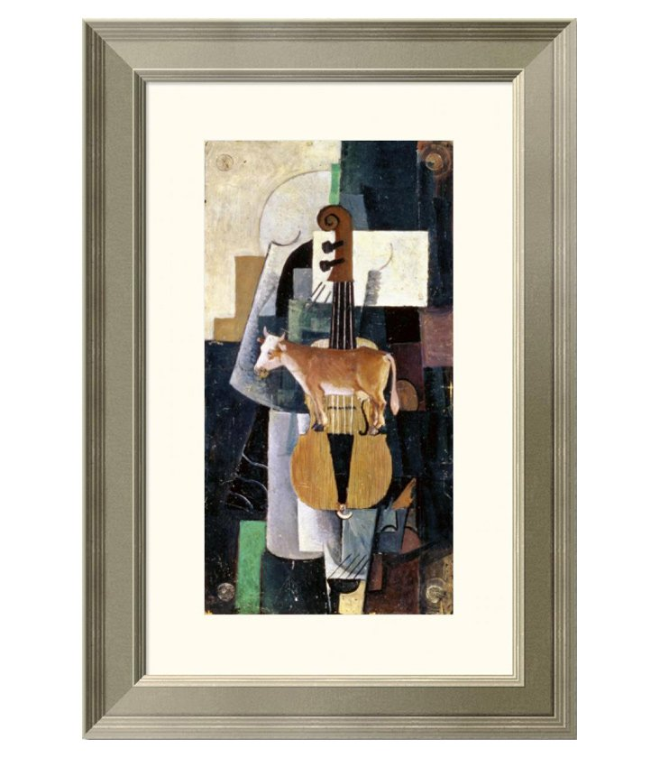Kazimir Malevich, Cow and The Violin
