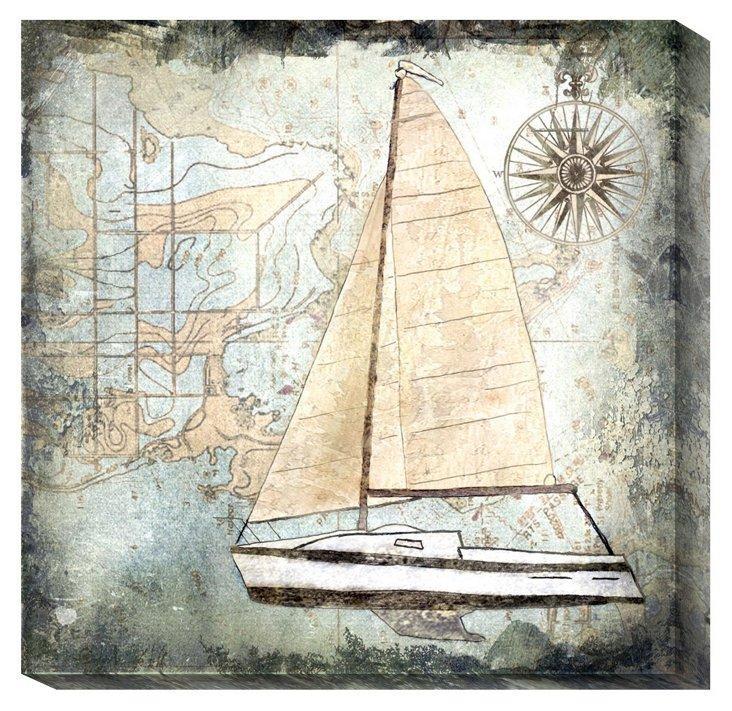 Karen J. Williams, Sailboat Map IV