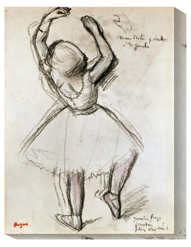 Edgar Degas, Backview of a Dancer