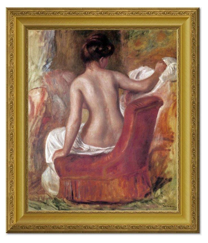 Renoir, Nude In Chair