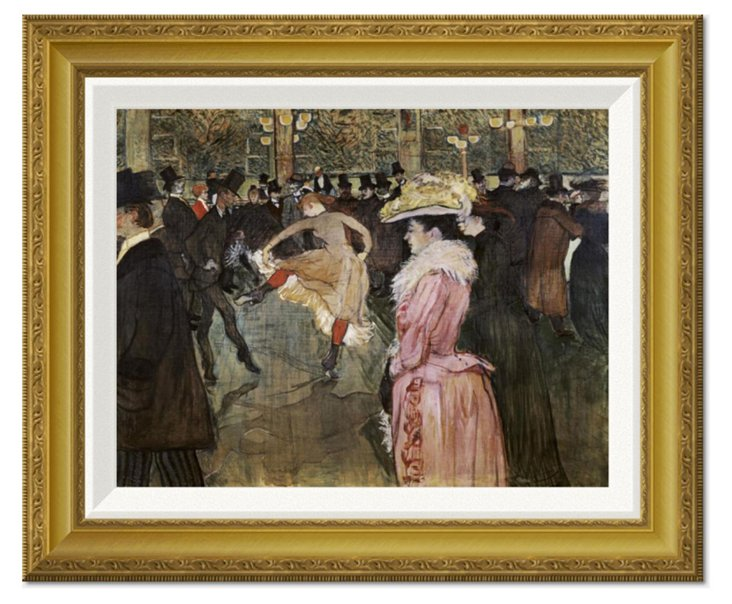 Toulouse-Lautrec, At the Moulin Rouge