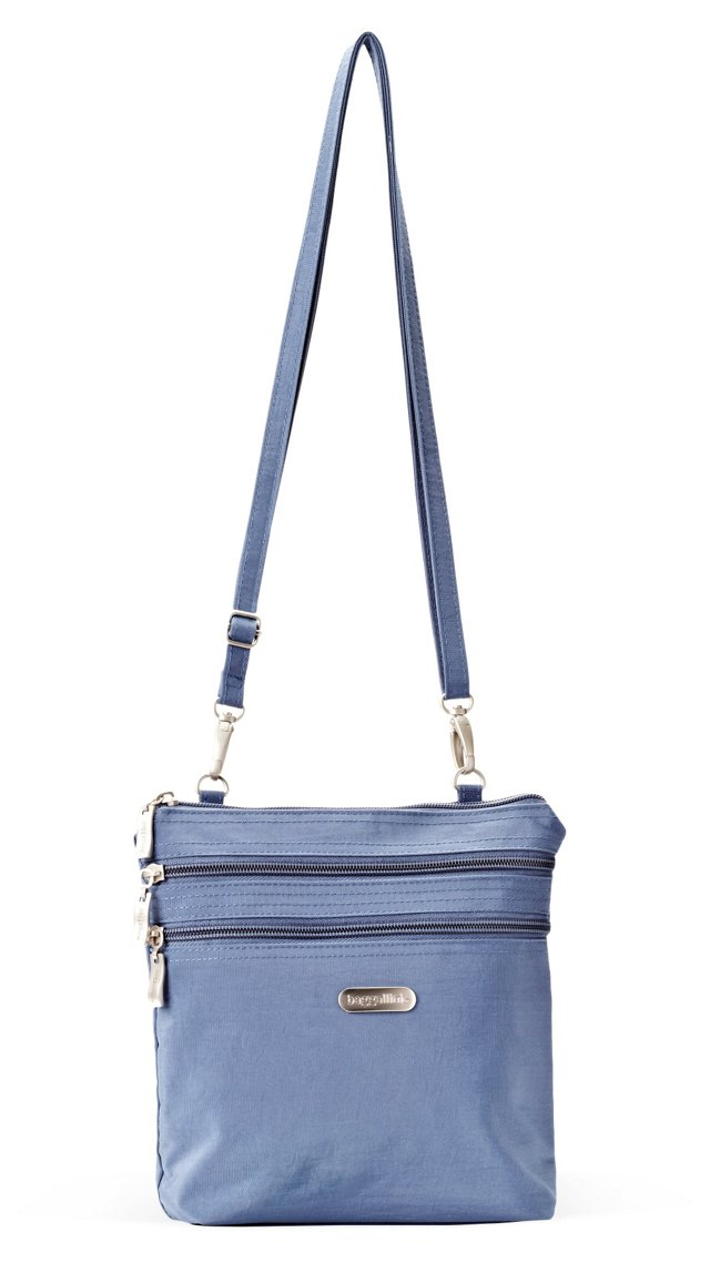 Zipper Bagg, Steel Blue