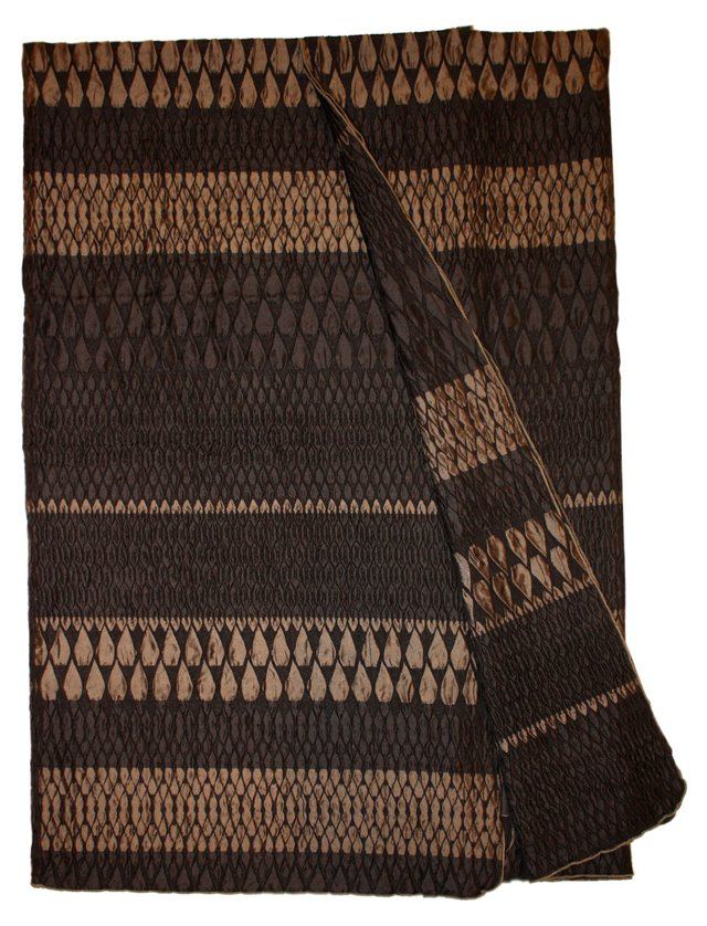 Onyx Throw, Chocolate