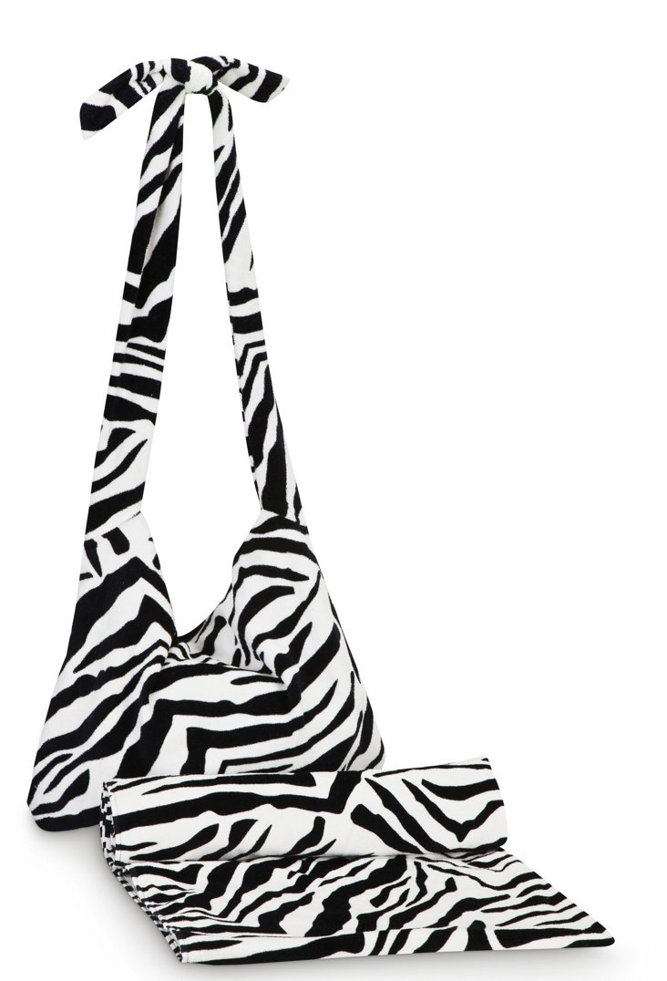 Crossbody Towel Set, Sahara Stripe