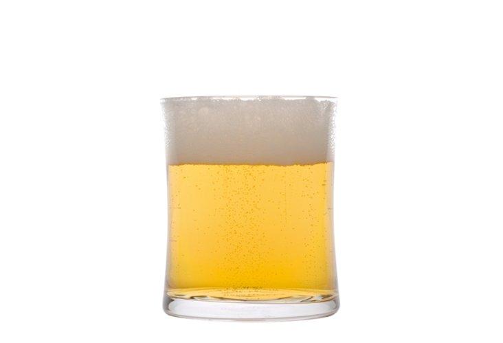 S/4 Concavo Beer Glasses, 10.8 Oz