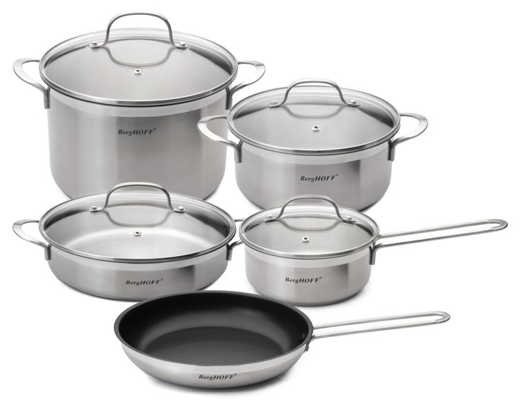 9-Pc Bistro Cookware Set