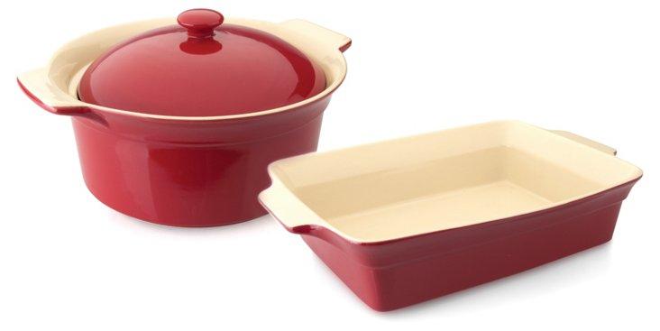 3-Pc Geminis Bakeware Set