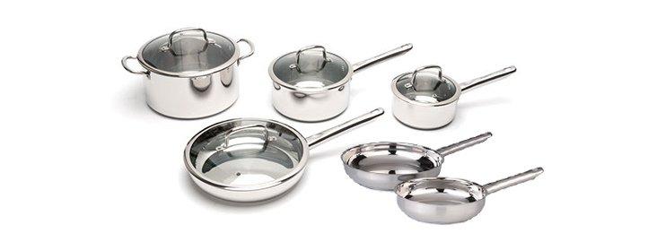 10-Pc Boreal Cookware Set