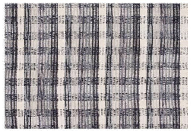 Sorrel Flat-Weave Rug, Denim