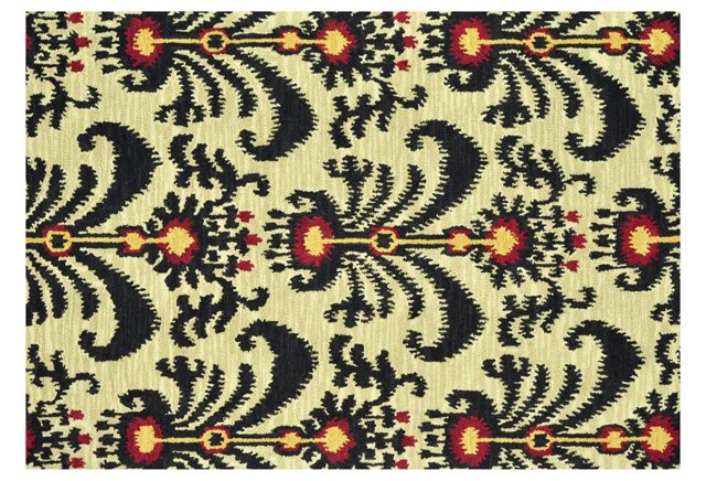 Edmund Rug, Cream/Black