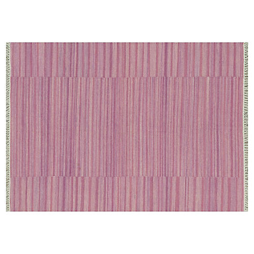 Anzio Flat-Weave Rug, Pink