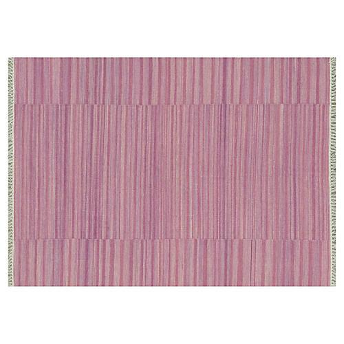 Anzio Flat-Weave Rug, Pink