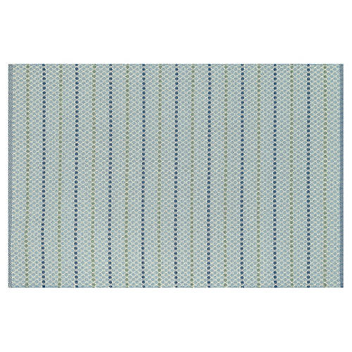 Weston Outdoor Rug, Blue