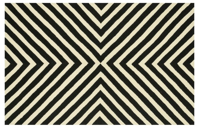 Kingsley Outdoor Rug, Black