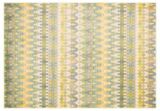 Porter Rug, Green/Multi