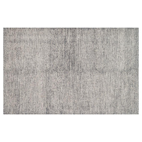Stella Hand-Knotted Rug, Gray