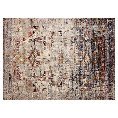 Corinne Rug, Purple/Multi