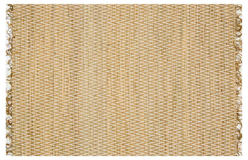 Jay Jute-Blend Rug, Natural