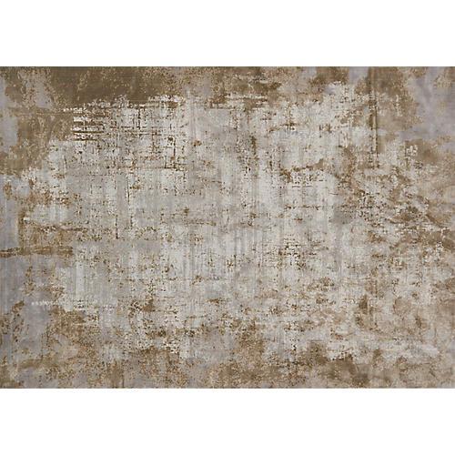 Alborz Rug, Wheat/Gray