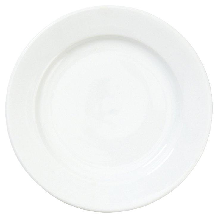 S/4 Porcelain Bistro Salad Plates