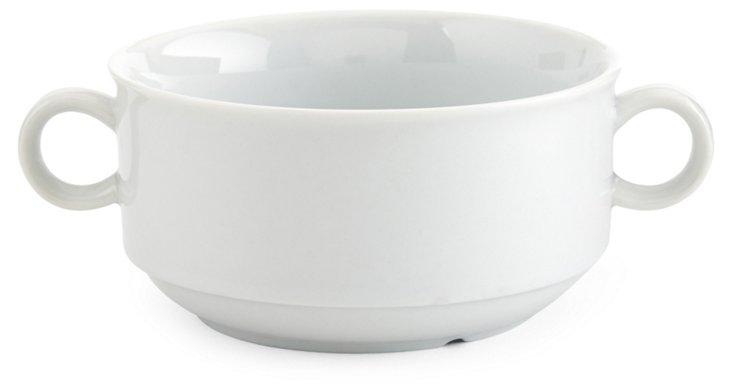 S/4 Porcelain Soup Bowls