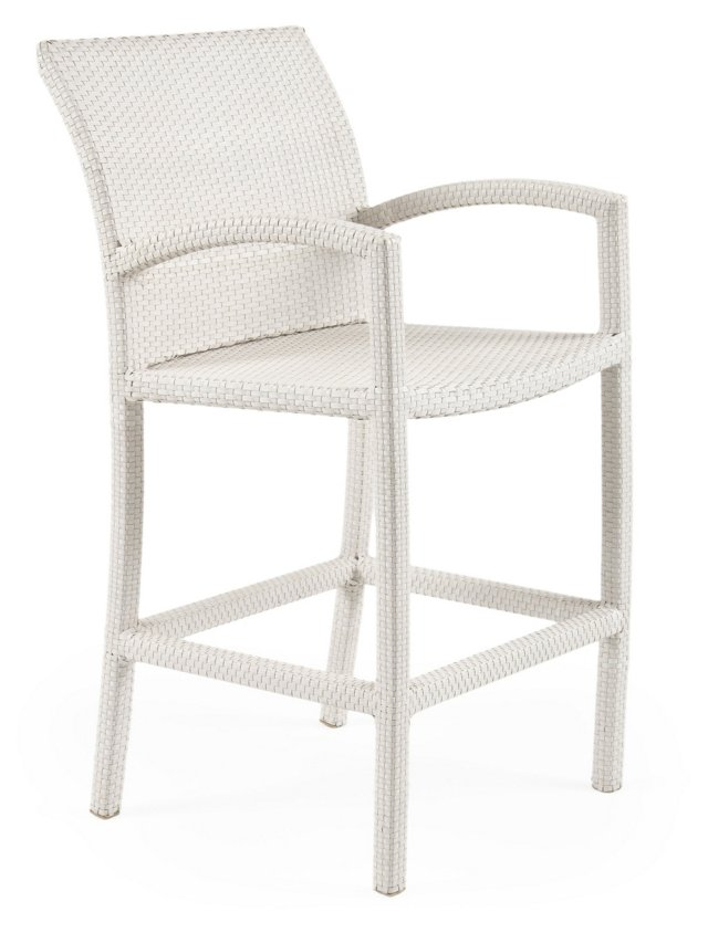 Fusion Bar Chair, White