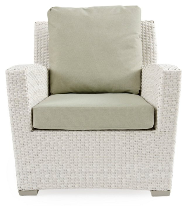 Fusion Lounge Chair, Sage