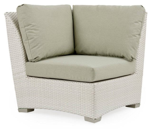 Fusion Corner Chair, Sage