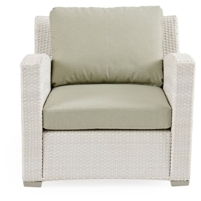 Fusion Club Chair, Sage