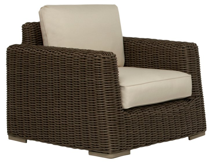 Tangier Lounge Chair w/ Loose Cushions