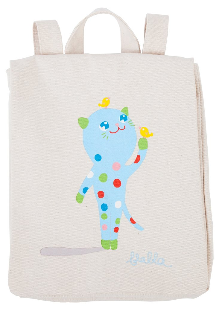 Bubbles Canvas Backpack