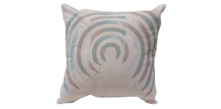 Corkscrew Concrete 24x24 Pillow