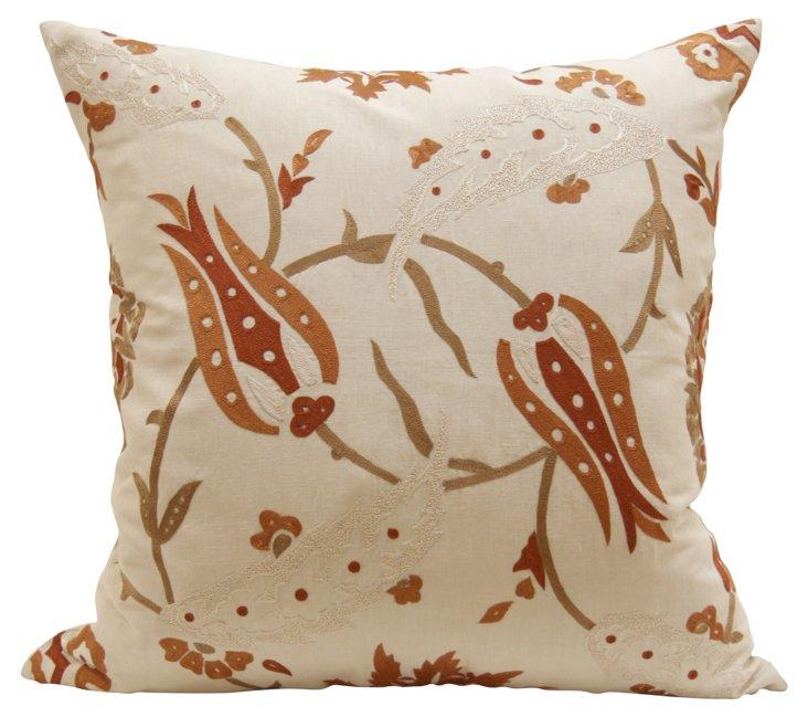 Greta Spice 24x24 Pillow