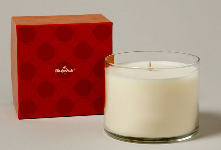 Bluewick Groove Redfig Candle