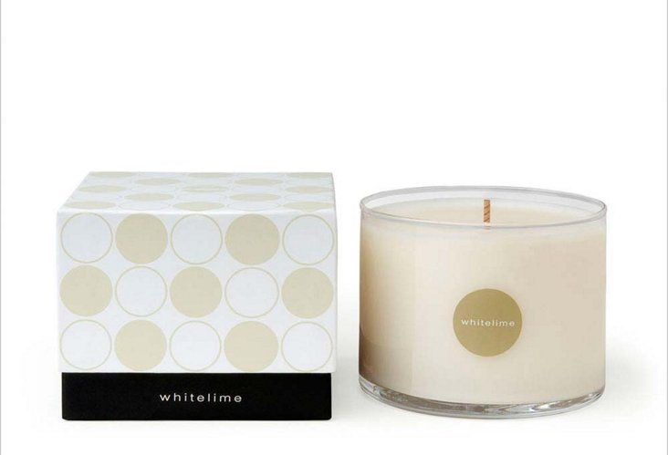 Bluewick Whitelime Soy Candle