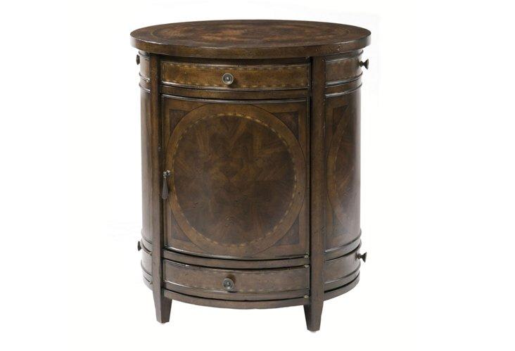 DNU,DiscConcord Circular Lamp Table