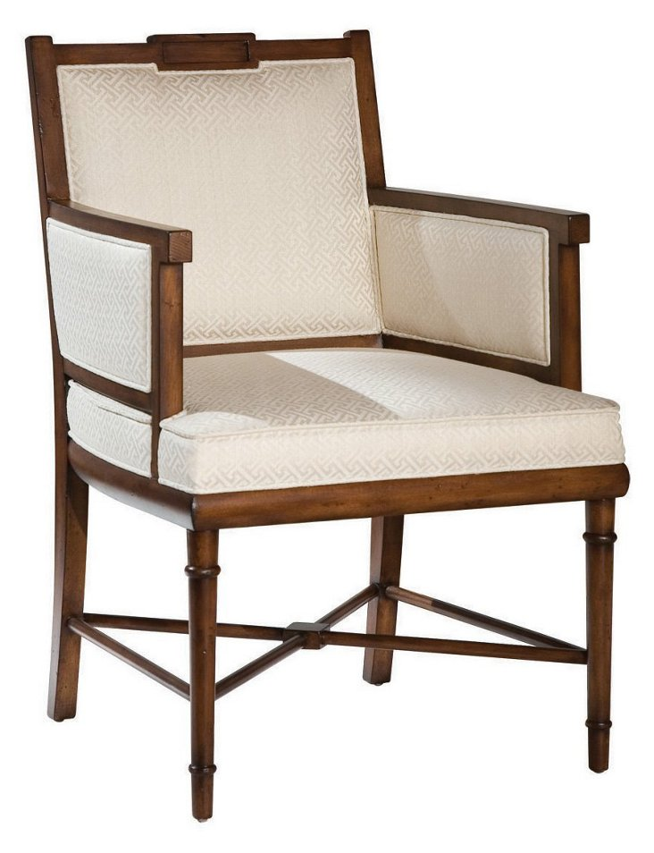 Lindsey Occasional Chair, Ivory
