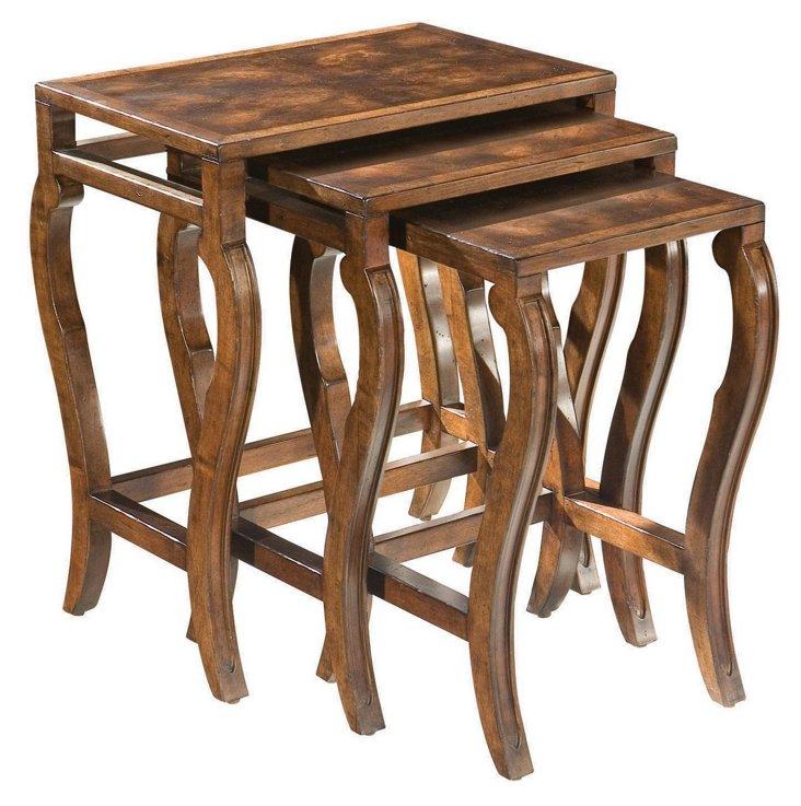 DNU,DiscAldrich Nesting Tables, Set of 3